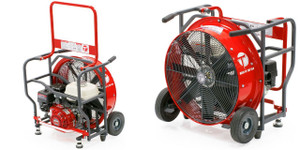 Tempest 24 in. Belt Drive Blower with Honda GX Engines