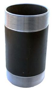 Morrison Bros. 244N Series 8 in. Pipe x 8 in. Long Pipe Nipple - Threaded One End