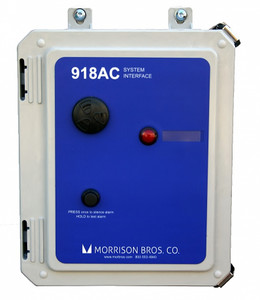 Morrison Bros. Model 918AC Tank Alarm System Interface w/ 4 Inputs & No Outputs