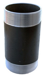 Morrison Bros. 244N Series 8 in. Pipe x 8 in. Long Pipe Nipple - Threaded Both Ends