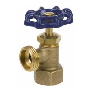 Smith Cooper Series 100 Cast Brass Female NPT Inlet Boiler Drains - 1/2 in. - 3/4 in.
