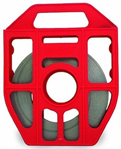 BAND-IT 3/4 in. Red Tote 201 Stainless Steel Band - 100 ft. Roll