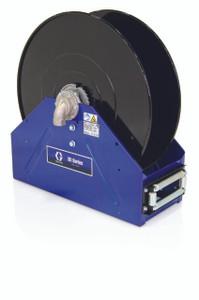 Graco XD 40 1 in. x 50 ft. Heavy Duty Spring Driven Oil Hose Reels (Blue) - Bare Reel
