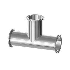 Dixon High Purity BioPharm Clamp Tees - 2 1/2 in. - SF1-Ra20