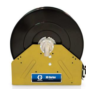 Graco XD 40 1 in. x 50 ft. Heavy Duty Spring Driven Oil Hose Reels (Yellow) - Bare Reel