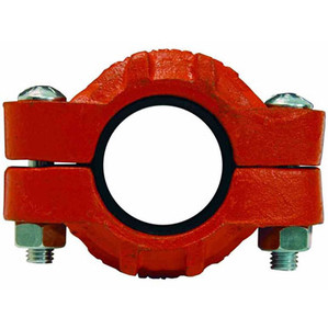 Dixon Series S Style 11 10 in. Standard Grooved Couplings w/ Nitrile Rubber Gasket