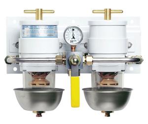Racor 2 Micron Clear Plastic 75500MAX Series Marine Turbine Fuel Filter