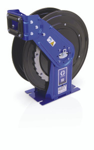 Graco XD 30 Series 1/2 in. x 75 ft. Heavy Duty Spring Driven Oil Hose Reels (Blue) - Reel Only