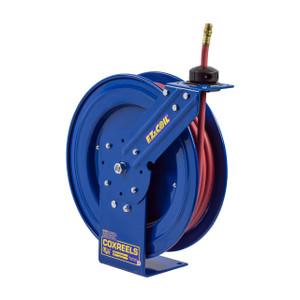 Coxreels EZ-P-LP-350 EZ-Coil Performance Air Hose Reel - Reel & Hose - 3/8 in. x 50 ft.
