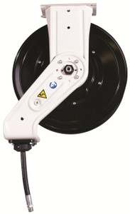 Graco XD 30 Series 1/2 in. x 75 ft. Heavy Duty Spring Driven Oil Hose Reels (White) - With Hose