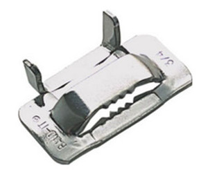 BAND-IT 1/2 in. 316 Stainless Steel Ear-Lokt Buckles - 100 QTY