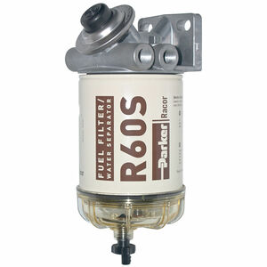 Racor 400 Series 60 GPH Diesel Spin-On Fuel Filter - 2 Micron