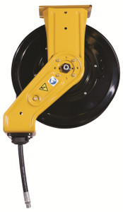 Graco XD 30 Series 1/2 in. x 75 ft. Heavy Duty Spring Driven Oil Hose Reels (Yellow) - With Hose