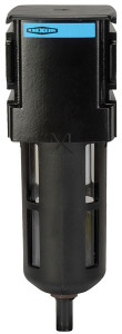 Dixon Wilkerson 3/8 in. F28 Standard Filter with Transparent Bowl & Guard - Manual Drain