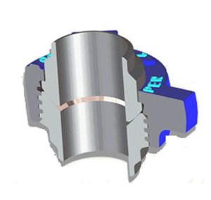 Kemper Valve Figure 200 Butt-Weld Hammer Unions - Buttweld Schedule 40 - 2 1/2 in.