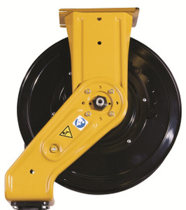 """Graco XD Series Heavy Duty Spring Driven Oil Hose Reels - Reel Only - 3/4"""" x 50' - Yellow - XD 30"""