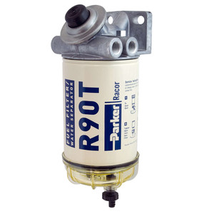 Racor 400 Series 90 GPH Diesel Spin-On Fuel Filter - 10 Micron - 6 Qty