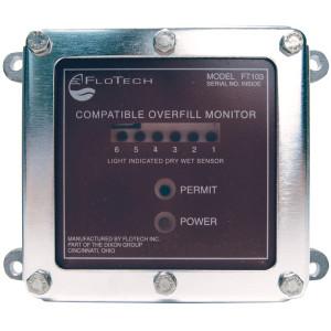 FloTech FT103 Overfill Monitor w/ Housing