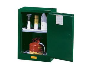 Justrite Sure-Grip Ex Compac Safety Cabinet for Pesticides - 1 Door Self-Close