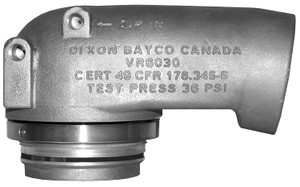 """Dixon Bayco Air Operated Sequential Vapor Valve - For 16"""" manhole, mounting ring attachment - 36 PSI"""