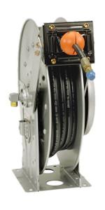 Hannay N500 Series Spring Rewind Grease Reels - Reel with hose - 1/4 in. x 50 ft.