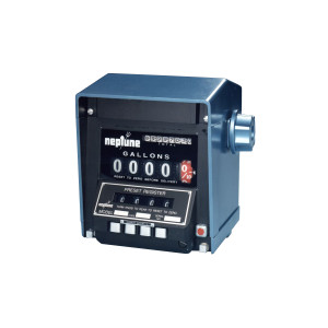 Neptune 832 Series Preset Mechanical Registers - 832-1 - Double - Gallons, tenths