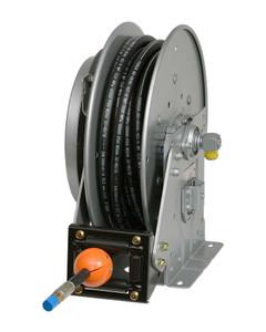 """Hannay N700 Series Medium Pressure Spring Rewind Reels - Includes SAE 100 R1 2325 psi hose - 1/2"""" x 50'"""
