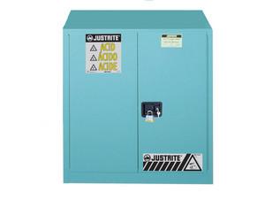 Justrite 893022 Sure-Grip Ex 30 Gallon Classic Safety Cabinet for Corrosives - Self-Close