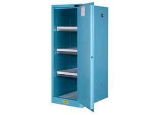 Justrite Sure-Grip Ex 54 Gallon Slimline Cabinet for Corrosives - Self-Close