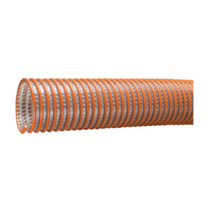 Kuriyama Tigerflex WST Series 1 1/2 in. x 100 ft. Heavy Duty PVC Suction & Discharge Hose - Hose Only