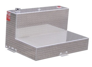 95 Gallon Severe Series L Shaped Aluminum Refueling Transfer Tank