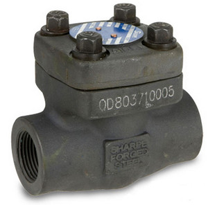 Sharpe Class 800 1/2 in. NPT Threaded Forged Carbon Steel Swing Check Valve
