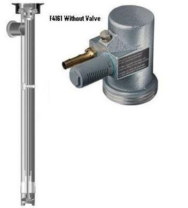 Flux 427S 3A Sanitary Pumps With Air Motors - F4161 Without Valve - 39 in. Tube