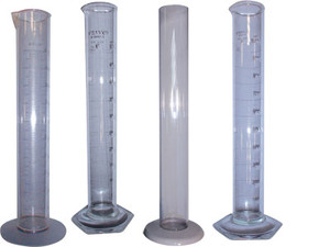 W.L. Walker Plastic Cylinder - Graduated, 20 ml divisions - 2000 - 3 1/8 in. x 19 1/2 in.