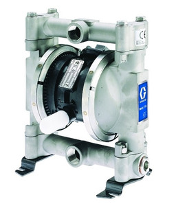 Husky Stainless Steel 716 Air Diaphragm Pump w/ Polypropylene Seats and Santoprene Diaphragms