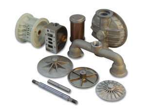 Nomad Non-Elastomer Replacement Air Valve Assembly for Wilden 1/2 in. AODD Pumps - 01-2012-07