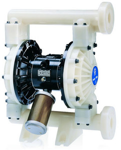 Husky Polypropylene 1590 Air Diaphragm Pump w/ Polypropylene Seats and Santoprene  Diaphragms