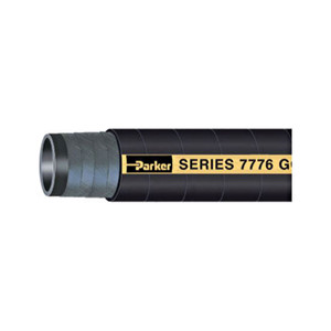 Parker Series 7776 Gold Label 2 1/2 in. x 100 ft. Aircraft Fueling Hose Assemblies w/ Male NPT Ends