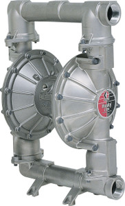 Husky Stainless Steel 2150 Air Diaphragm Pump w/ Stainless Steel Seats and  PTFE Diaphragms