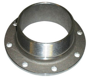 Betts 3 in. TTMA Flange x 3 in. Male NPT - Stainless Steel