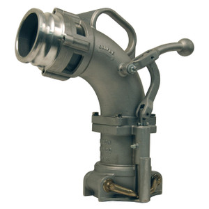 Dixon Bayco 6200 Series Drop Elbows w/ 3 in. Male Adapter - 17 3/4 in. H