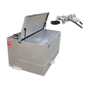 50 Gallon Transfer Tank & Tool Box Combo With GPI M150SEM Pump
