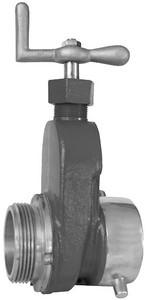 Flomax Brass Hydrant Gate Valve w/ PTFE Seals
