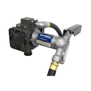 Tuthill FR450B 115V AC Diaphragm Transfer Pump w/ Manual Nozzle - 13 GPM
