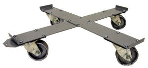 National Spencer 55 Gallon Drum Dolly with Penolic Casters