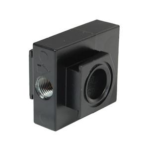 "Dixon Wilkerson Modular Manifold Block - Three 1/4"" NPT Aux Ports"