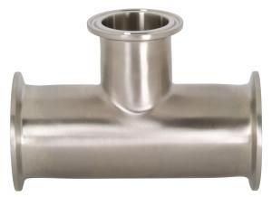 Dixon Sanitary B7RMP Series 304 Stainless Clamp Reducing Tees