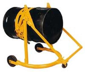 Vestil Portable Manual Drum Lifter Transporter & Rotator