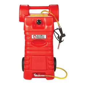 JohnDow 25 Gallon Poly Portable Fuel Cart, Gasoline