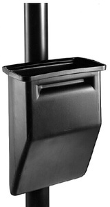 Commercial Zone Windshield Wash Squeegee Bucket